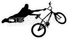 BMX Trick Decal Sticker