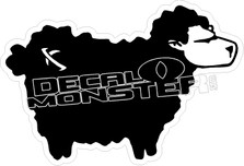 Lost Black Sheep Decal Sticker