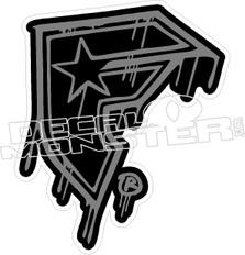 Famous Stars Drip Decal Sticker
