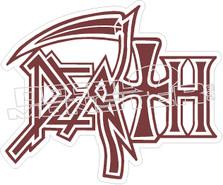 Death Band Decal Sticker
