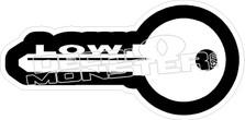 Low Key Decal Sticker