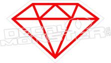 Diamond 5 Decal Sticker
