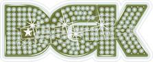 DGK Sparkle Decal Sticker