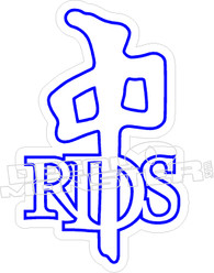 RDS Outline Decal Sticker