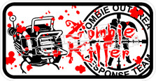 Zombie Outbreak Response Team Decal Sticker