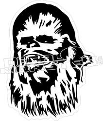 Chewbacca Decal Sticker