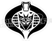 GIJO Transformers Decal Sticker