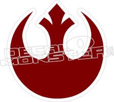 Star Wars17 Rebel Sign Decal Sticker