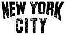 New York City Decal Sticker