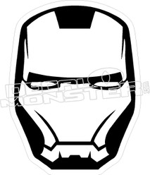Iron Man Decal Sticker