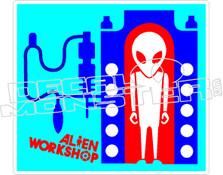 Alien Worhshop Factory Decal Sticker
