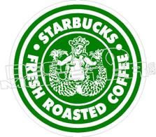 Starbucks Twin Tale Decal Sticker