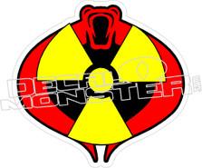 GI Joe Cobra Decal Sticker
