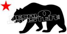Cali Bear 2 Decal Sticker