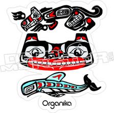 Organika Skateboards Decal Sticker