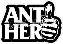 Anti Hero Thumb Decal Sticker