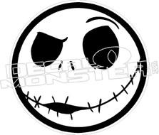 Jack Skeleton 5 Decal Sticker