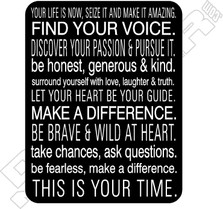 Find Your Voice This Is Your Time Decal Sticker