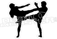 UFC Fighters Decal Sticker