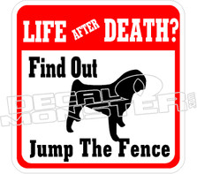 Life After Death Find Out Decal Sticker