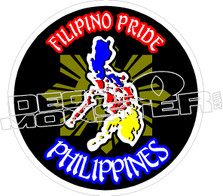 Filipino Pride Decal Sticker