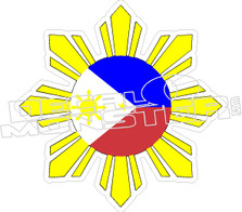 Philippines 11 Decal Sticker