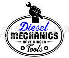 Diesel Mechanics Tools Decal Sticker