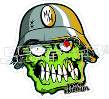 Metal Mulisha 17 Decal Sticker