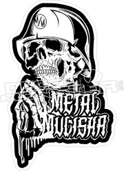 Metal Mulisha 2 Decal Sticker3