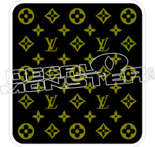 Louis Vitton Decal Sticker