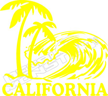 California Decal Sticker