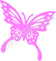 Butterfly 53 Decal Sticker
