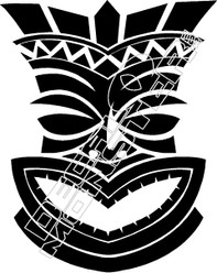 Tiki 53 Decal Sticker