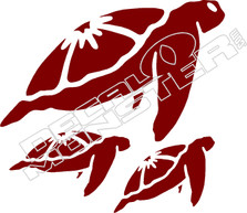 Turtle 55 Decal Sticker
