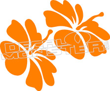 Hawaiian Flower 55 Decal Sticker