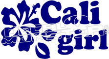 Cali Girl Decal Sticker