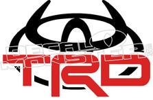 TRD Devil Decal Sticker