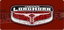 Laramie Longhorn Decal Sticker