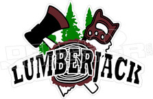 Lumberhack Decal Sticker