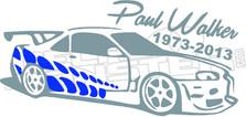 Paul Walker Memorial 51 Decal Sticker
