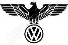VW Eagle Decal Sticker