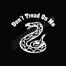 Dont Tread On Me Decal Sticker