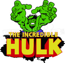 The Incredible Hulk 51 Decal Sticker