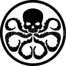 Hidra Decal Sticker