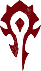 Horde Decal Sticker