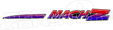 Ski Doo MachZ Decal Sticker