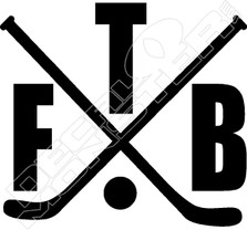 Hockey 51 Decal Sticker