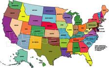 USA Map 61