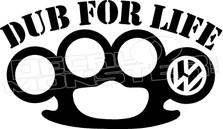 Dub For Life Brass Knuckles