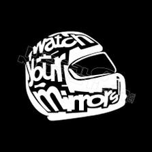 Watch Your Mirrors Helmet